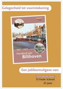 "Boek ""Bilthoven 100 jaar"" Gelegenheid tot vóórintekening"